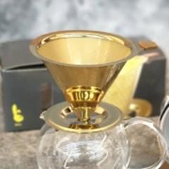 에코 나노 커피 드립퍼(실버/티타늄골드)