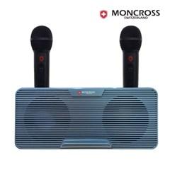 몽크로스 듀얼 스테레오 블루투스 스피커+마이크 MSDM-K2000