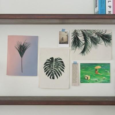 미니 포스터 / 패브릭 포스터_botanical/보테니컬 A (4종세트)