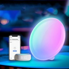 RGB 레인보우 실내무드등 침대헤드 탁상용 인테리어