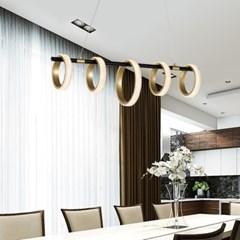 파이브 1등 LED 펜던트 식탁 조명