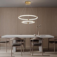 boaz 그로우링2단 식탁등 LED 카페 홈 인테리어 조명