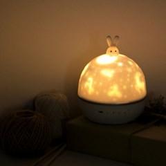 시크릿빔 LED 무드등 아이방 별자리 선물- 토끼