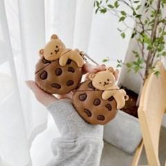 2퍼센트 초코칩 톡톡 잠자는 곰돌이 에어팟 케이스