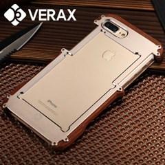 P122 아이폰5 5S R-JUST 조립식 우드 메탈 하드케이스