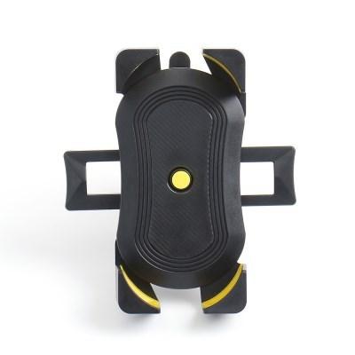원터치 자전거 스마트폰 거치대(블랙+옐로우) 전동킥보드 휴대폰