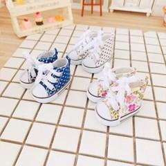아이돌 인형 캔버스 신발(약20cm용)
