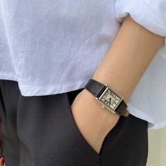 여성 여자 데일리 패션 손목시계 클래식 스퀘어