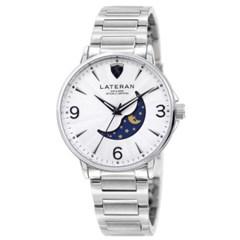 [본사정품] 라테란 LTN-1801A 남성 메탈 시계