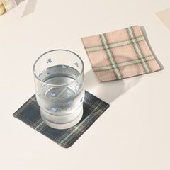 곱슬바구니 빈티지 티코스터 컵받침 홈카페