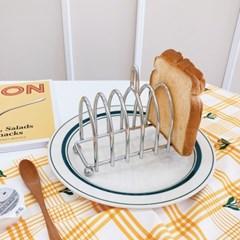 토스트랙 와플 식빵 꽂이 스텐 거치대