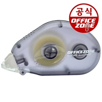 오피스존 양딱 풀테이프 10M 글루 양면 접착 OZGT-810