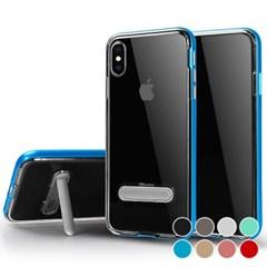P059 아이폰6 클리어 스탠딩 커버 젤리 케이스