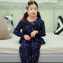 여아잠옷 조이플 겨울상하복 순면파자마 캐릭터 긴팔 유아동실내복