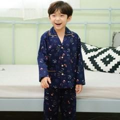 남자아이실내복 조이플 순면룸웨어 긴팔 캐릭터잠옷 겨울 유아파자마