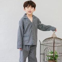 아이옷 순면기모실내복 바니ST 선염 남자아이잠옷 긴팔 어린이파자마