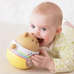 둥글둥글 곰돌이 아기 오뚝이 터미타임 장난감
