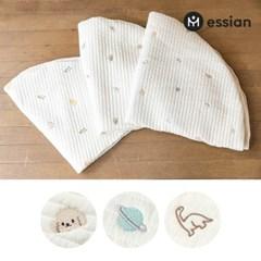 에시앙 모데즈 누빔 자수 아기 원형러그용 커버 (디자인선택)