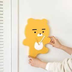 카카오프렌즈 에이프릴샤워 포인트 벽시계