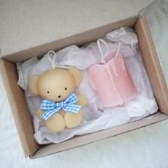 아기곰캔들&미니촛농캔들 세트 오브제 인테리어소품 소소한선물