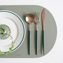 (에펠 로즈골드) 커트러리 스푼, 포크, 나이프 - 8color