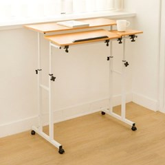 가구느낌 파이널책상 높이조절 스탠딩 각도도절테이블