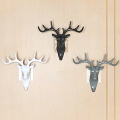 비진 사슴 디자인 인테리어 벽걸이 3개 1set