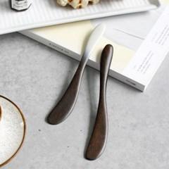 다듬 옻칠 버터 나이프 (2colors)