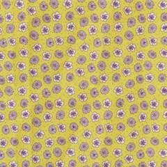 [Fabric] 와일드플라워 - 버터컵 패턴 코튼