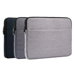 비진 심플라인 포켓 노트북 파우치 11.6인치
