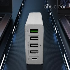 애니클리어 스마트 USB PD 퀵차지 3.0 멀티 고속 충전기 30W 퀵차저