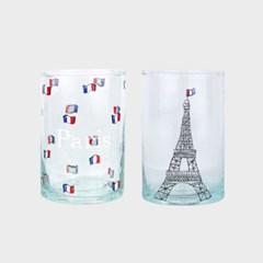 마린 몽타규 유리잔 에펠탑 SET