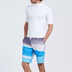 남성 남자 래쉬가드 비치웨어 수영복 티셔츠 SB-4