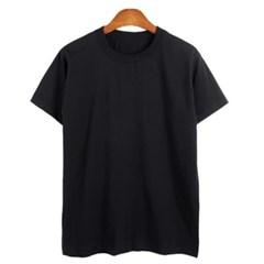 남성 남자 여름 라운드넥 면 반팔 티셔츠 빅사이즈