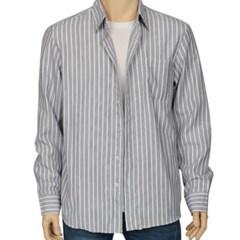 남성 긴팔 셔츠 남방 와이셔츠 컬러 스트라이프