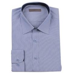 남성 긴팔 셔츠 남방 와이셔츠 스카이라인 스트라이프