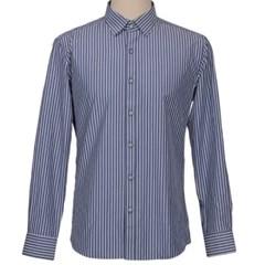 남성 긴팔 셔츠 남방 와이셔츠 데일리 스트라이프