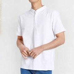 남성 남자 여름 반팔 티셔츠 빅사이즈 차이나기본핏