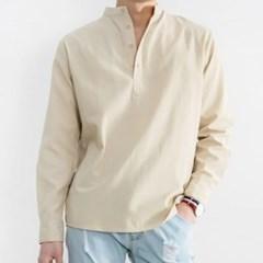 남성 남자 데일리 셔츠 남방 긴팔 빅사이즈 사각무늬