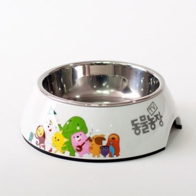 강아지 밥그릇 하루의 냠냠식기A 소형 160ml 애견물그릇