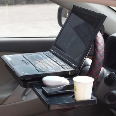 데이로 차량용 테이블 거치대 책상 핸들 거치 식탁