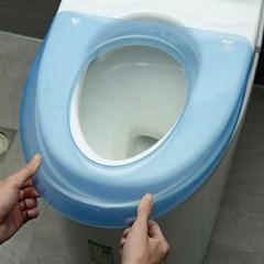 성인 유아 변기시트 변기패드 휴대용 투명 변기커버