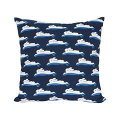 Swimming Bunny Cushion