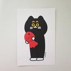[마을프렌즈] 고양이 엽서