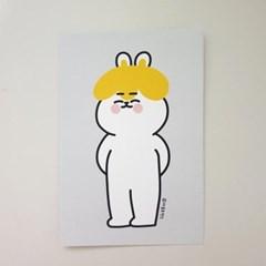 [마을프렌즈] 토끼 엽서