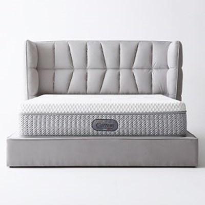 까르엠가구 아쿠아텍스 저상형 평상형 침대 프레임 Q/K