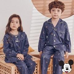 디즈니아기옷 미키달밤 순면 긴팔 캐릭터잠옷 가을 유아파자마