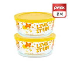 코렐 파이렉스 미니마우스 리미티드 용기 레몬 2p세트