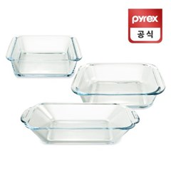코렐 파이렉스 리틀 플래터 디쉬 오븐용기 3p세트