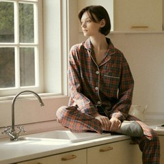 (w) Salmon Pajama Set